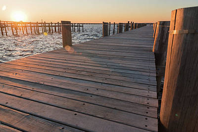 Photograph - At The Docks by Kristopher Schoenleber