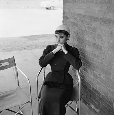 Photograph - Audrey Hepburn by Hulton Archive