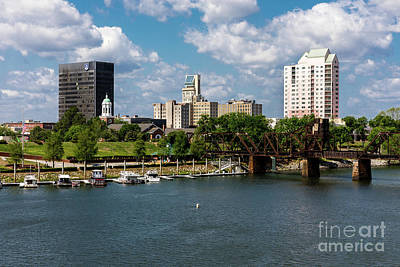 Photograph - Augusta Ga - Savannah River by Sanjeev Singhal