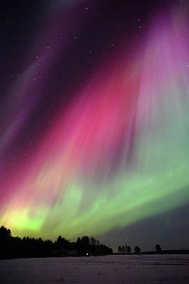 Aurora Borealis Art Print by Eerik