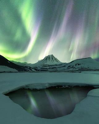 Photograph - Aurora Borealis by Photography by KO