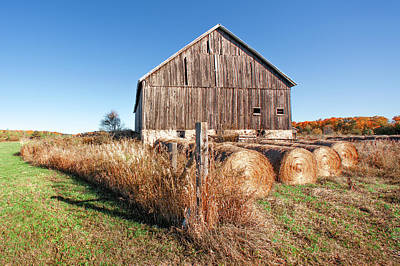 Photograph - Autumn Barn by Todd Klassy