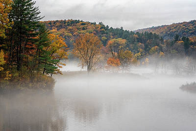 Photograph - Autumn Fog by Tom Singleton