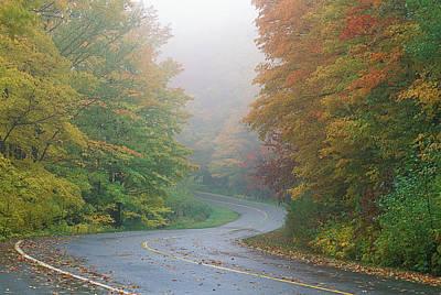 Gatineau Park Photograph - Autumn, Gatineau Park, Quebec, Canada by Garry Black
