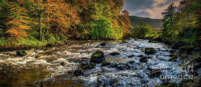 Photograph - Autumn Rapids by Adrian Evans