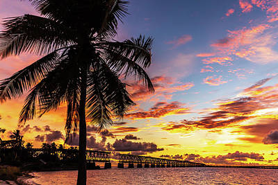 Photograph - Bahia Honda Sunset by Stefan Mazzola
