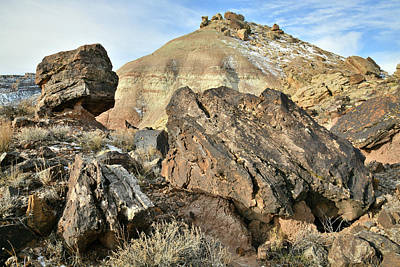 Photograph - Balanced Rock On Ruby Mountain by Ray Mathis