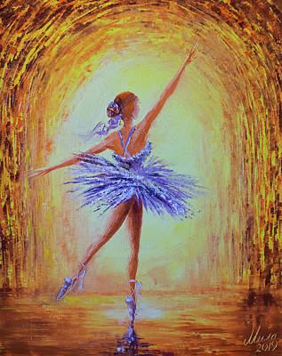 Painting - Ballerina by Mila Vasileva