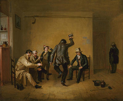 Painting - Bar-room Scene by William Sidney Mount