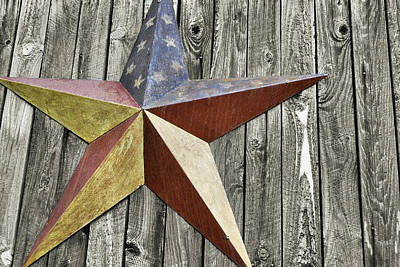Photograph - Barn Star by JAMART Photography