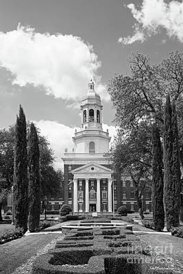 Photograph - Baylor University Pat Neff Hall by University Icons