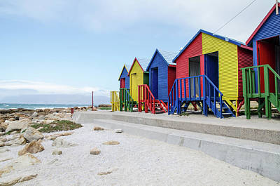 Photograph - Beach Huts by Rob Huntley
