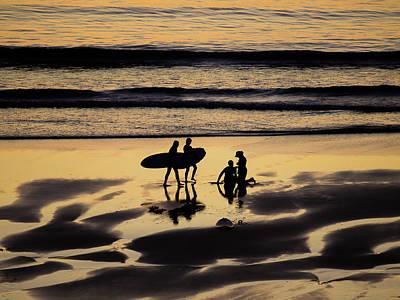 Photograph - Beach Scene by Jorg Becker
