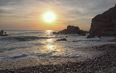 Cornwall Wall Art - Photograph - Beach Sunsets by Martin Newman