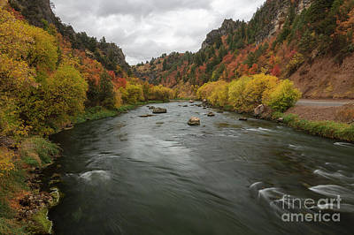 Photograph - Bear River Autumn by Idaho Scenic Images Linda Lantzy