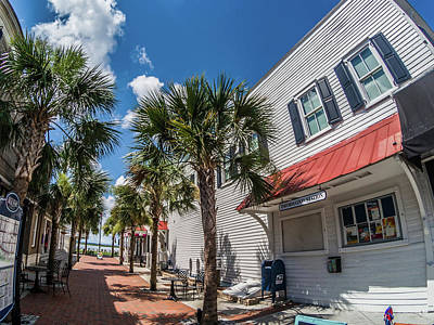 Photograph - Beaufort South Carolina City Center by Alex Grichenko