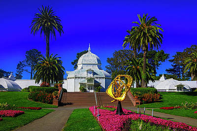 Photograph - Beautiful Conservatory Of Flowers by Garry Gay