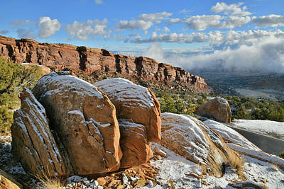 Photograph - Beautiful Morning At Colorado National Monument by Ray Mathis