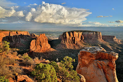 Photograph - Beautiful Sunrise At Colorado National Monument by Ray Mathis