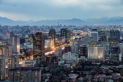 Photograph - Beijing Cbd by Dukai Photographer
