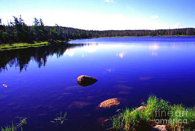 Photograph - Benjies Lake Cape Breton Island by Thomas R Fletcher
