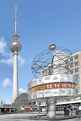 Recently Sold - Transportation Royalty-Free and Rights-Managed Images - Berlin Alexanderplatz by Joachim G Pinkawa