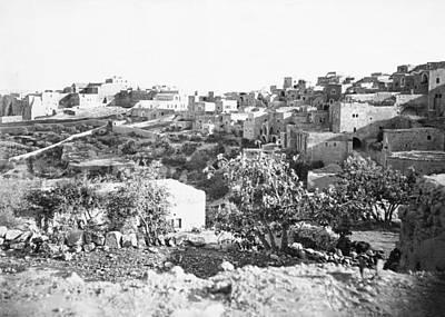 Photograph - Bethlehem 19th Century by Munir Alawi