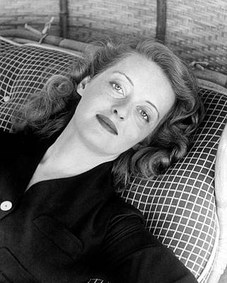 Human Interest Photograph - Bette Davis by Alfred Eisenstaedt