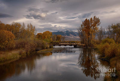 Photograph - Big Lost River by Idaho Scenic Images Linda Lantzy