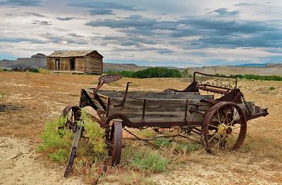 Photograph - Bighorn Basin History by Leland D Howard