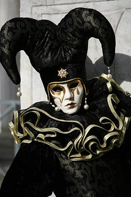 Photograph - Black Jester by Donna Corless