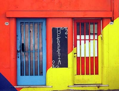Photograph - Blacksmiths Workshop, La Boca, Buenos Aires by Kurt Van Wagner
