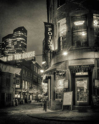 Photograph - Blackstone Block Historic District - Boston by Joann Vitali