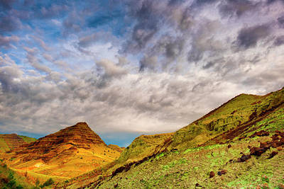 Photograph - Blue Basin In John Day Fossil Beds by Dee Browning