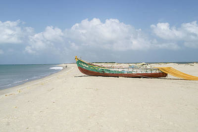 Terry Oneill - Boats Dhanushkodi by Carol Ailles