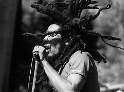 Celebrity Photograph - Bob Marley by Keystone