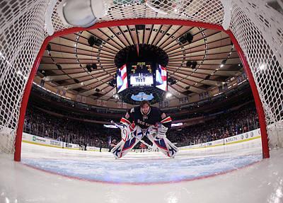 Photograph - Boston Bruins V New York Rangers by Bruce Bennett