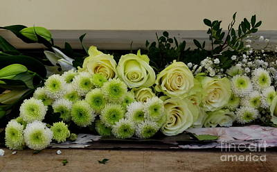 Photograph - Bouquet In The Making by Lainie Wrightson