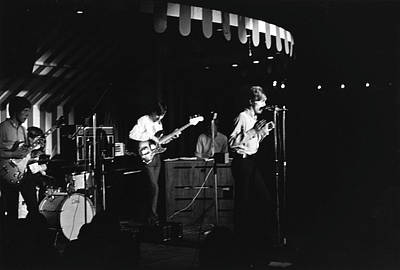 Photograph - Bowie With The Buzz At The Marquee by Michael Ochs Archives