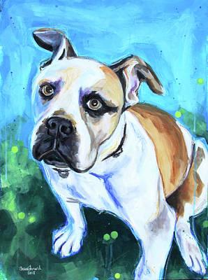 Painting - Boxer by Shaina Stinard