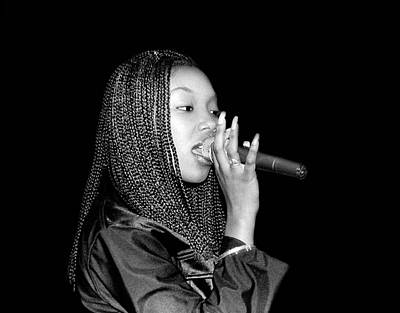 Photograph - Brandy Live In Chicago by Raymond Boyd
