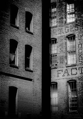 Photograph - Brick And Glass by Matthew Blum