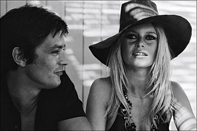 Photograph - Brigitte Bardot In Saint Tropez, France by Jean-pierre Bonnotte