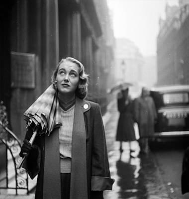 Photograph - British Beauty by Thurston Hopkins