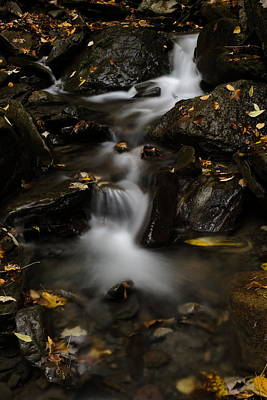 Photograph - Bucktail Falls by Jeffrey PERKINS