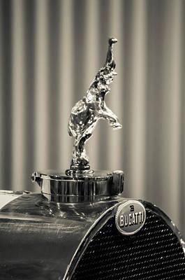 Photograph - Bugatti by Stewart Helberg