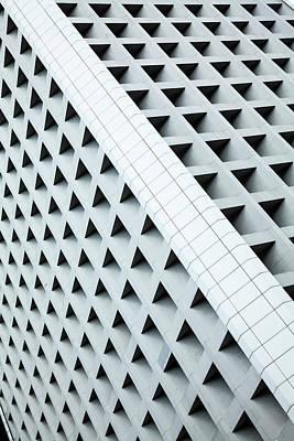 Photograph - Building Facade, Central by Jenny Jones