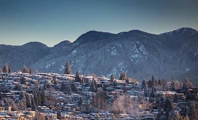 Photograph - Burnaby Mountain by Juan Contreras