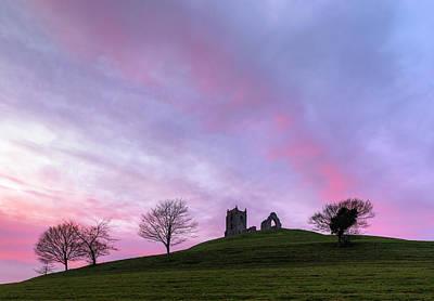 Somerset Wall Art - Photograph - Burrow Mump - England by Joana Kruse