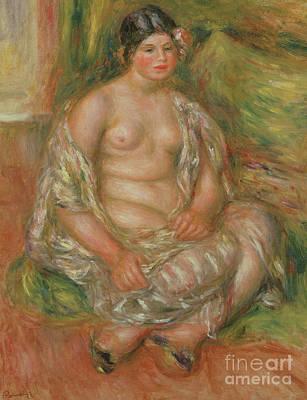 Painting - Bust Of Nude, 1909 by Pierre Auguste Renoir